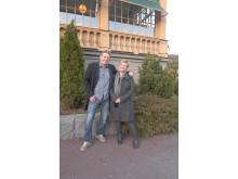 Blivande Doppingenborna Christer och Lotta