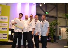 Guldmedalj Team Sabis Culinary Olympics 2012