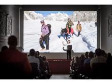 Es erwaten die Gäste u.a. interessante Vorträge zu Outdoorthemen - Reisende berichten von ihren Expeditionen