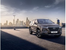 Nya Generationen Hyundai Santa Fe.