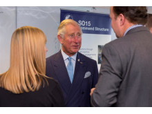 HRH The Prince of Wales speaks to Counter Terrorism officers