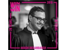 Winner 2019 Arash Derambarsh
