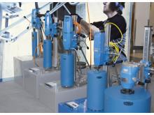 TYROLIT produktutställning och husmässa kärnborrsystem