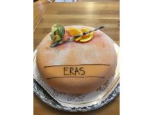 ERAS-tårta för excellent vård på DS