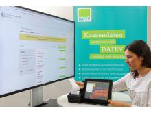 DATEV Kassenarchiv online auf der Jahrespressekonferenz 2018