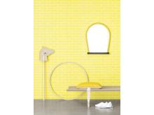 Acne JR - Tegel Yellow - Photowall