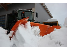 Seine absolute Bewährungsprobe hat der U-Schneepflug in diesem Winter bei Scheuer Werkstatt & Transport im österreichischen Pflach.