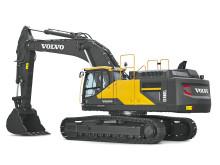 Volvo EC480E grävmaskin - Steg IV (frilagd)