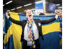 21-åriga Jonna Mjörnell fick brons i Yrkes-VM i Kazan, Ryssland