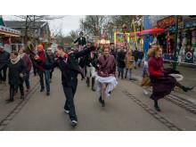 Gøgl og parade i Bakkens gader på åbningsdagen 2018