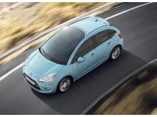 Citroën C3 snett uppifrån