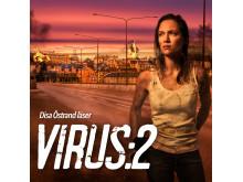 Omslag: Virus säsong 2 av Daniel Åberg