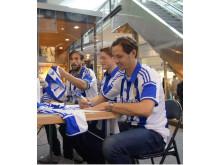 IFK Göteborgs nya matchtröja presenteras