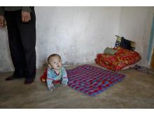 Kronisk matbrist och undernäring drabbar barnen i Nordkorea