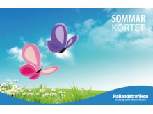 Snart sommar och sänkt pris på Sommarkortet