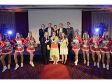 AccorHotels Azubi Award 2016: Gruppenbild mit den Erstplatzierten