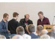 """Dansk Handicap Forbund uddelte """"Omtanken"""""""