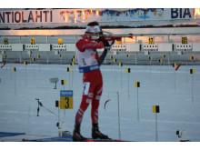 Ole Einar stående skyting