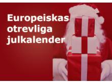 Europeiskas otrevliga julkalender