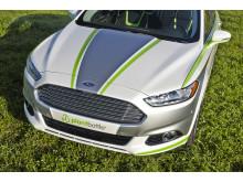 Ford Fusion Energi -hybridiautossa hyödynnetään Coca-Colan PlantBottle -teknologiaa