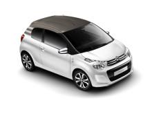 Nya Citroën C1 snett framifrån