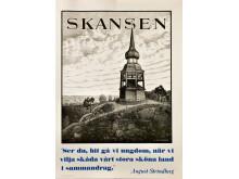 Utställningsaffisch från Skansen 1934.