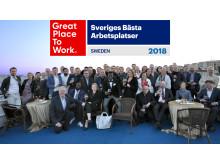 Iterio Sveriges Bästa Arbetsplatser 2018
