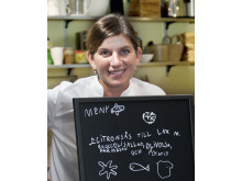 Minikockarnas coach, Karolina Sparring, kock och kokboksförfattare
