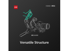 Zhiyun Crane 3 LAB 3  versatle structure