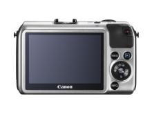 Canon EOS Silver Bakifrån
