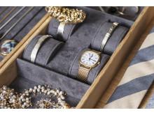 Plads til smykker og ure