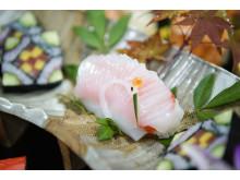 Höchste Sushi-Kunst: Eine Kreation des Siegers