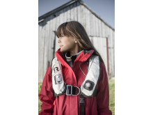 Regatta Northsafe ljusgrå flytväst miljöbild