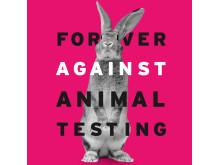 Forever Against Animal Testing_Bunny