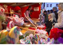 Julmarknad på Fredriksdal