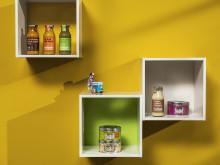 Trend 13 Färgkarta för väggfärg (Vivid Flowers)
