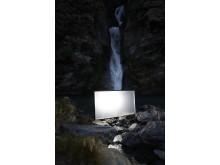 reklama Sony AF8 od kulis