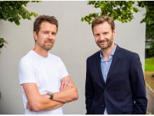 Terje Løken og Trygve Håkedal