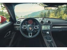 Interiören i nya Porsche 718 Cayman GTS 4.0