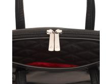 I Knomo´s nye Fitzrovia kollektion præsenteres den elegante Charlotte laptop taske