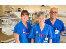 Personal på neonatalavdelningen, barn- och ungdomskliniken USÖ