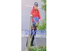 Image of man police wish to speak with - ref: 209530