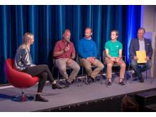 Kata Nilsson leder samtal om arbetsmarknadens utmaningar