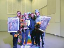 De tre nominerade tillsammans med NorrlandsOperans Danschef Birgit Berndt