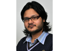 Rudrajeet Pal, doktorand vid Textilhögskolan.