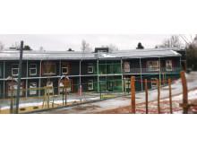 Stadsskogens skola i Alingsås, Nollenergibyggnad