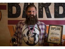 Årets snyggaste skägg - David Eriksson från Sundbyberg