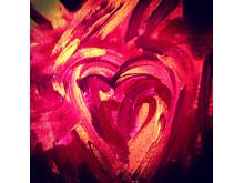 Regina Lund - konstutställning Angels in Love