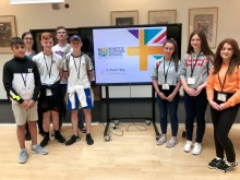 Local students have taken part in a prestigious event hosted by world-renowned physicist Brian Cox.