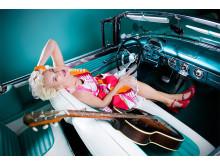 Rockabillydrottningen Eva Eastwood.